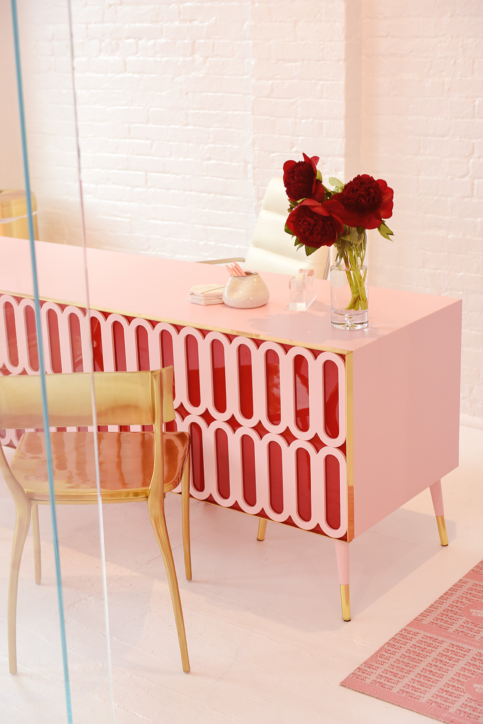Bespoke Desk Project by Royal Stranger for Museum of Ice Cream