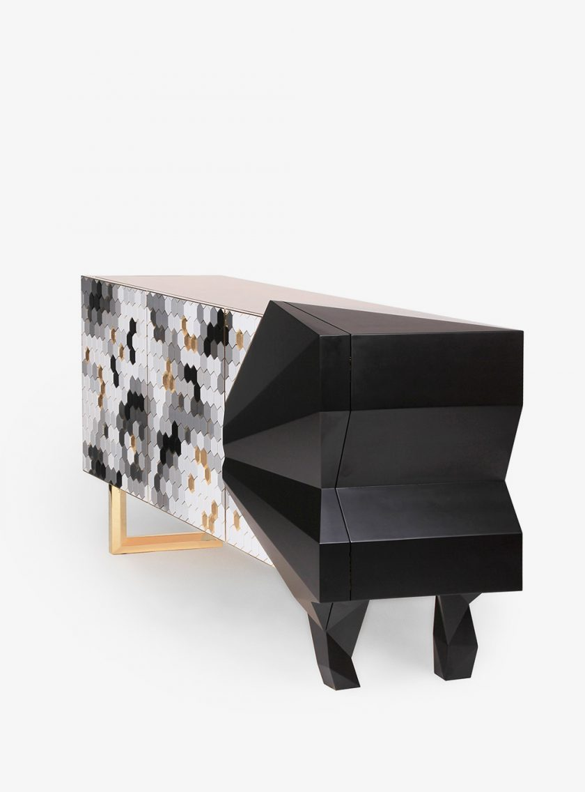 HONEYCOMB-SIDEBOARD-BW-2